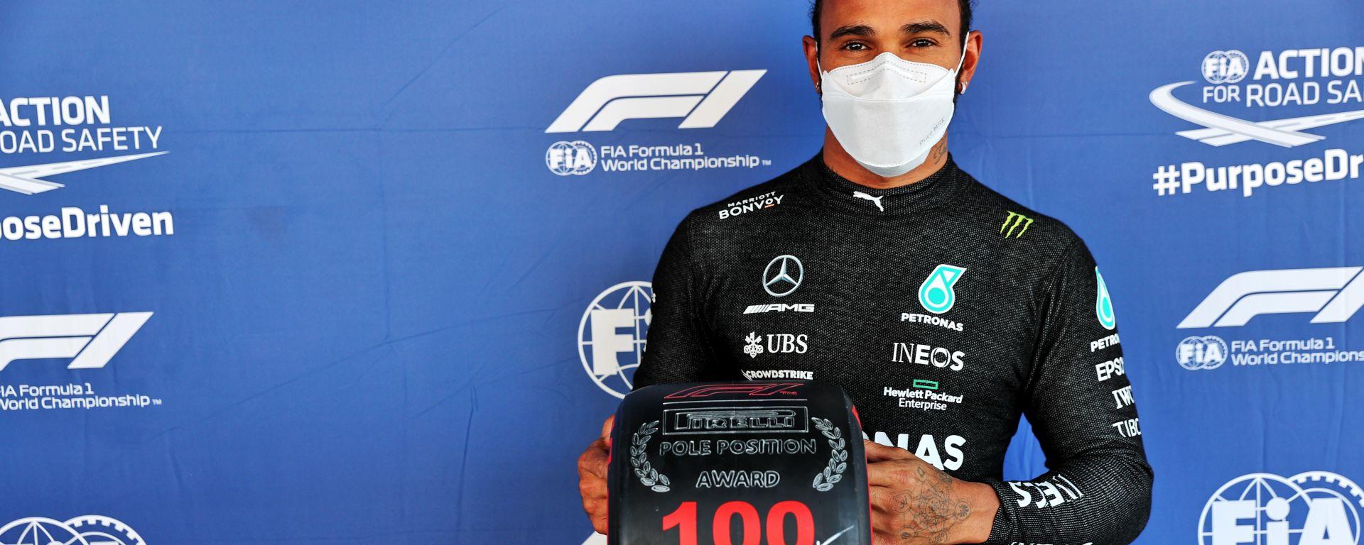 GP Spagna 2021, Barcellona: Lewis Hamilton (Mercedes AMG F1)