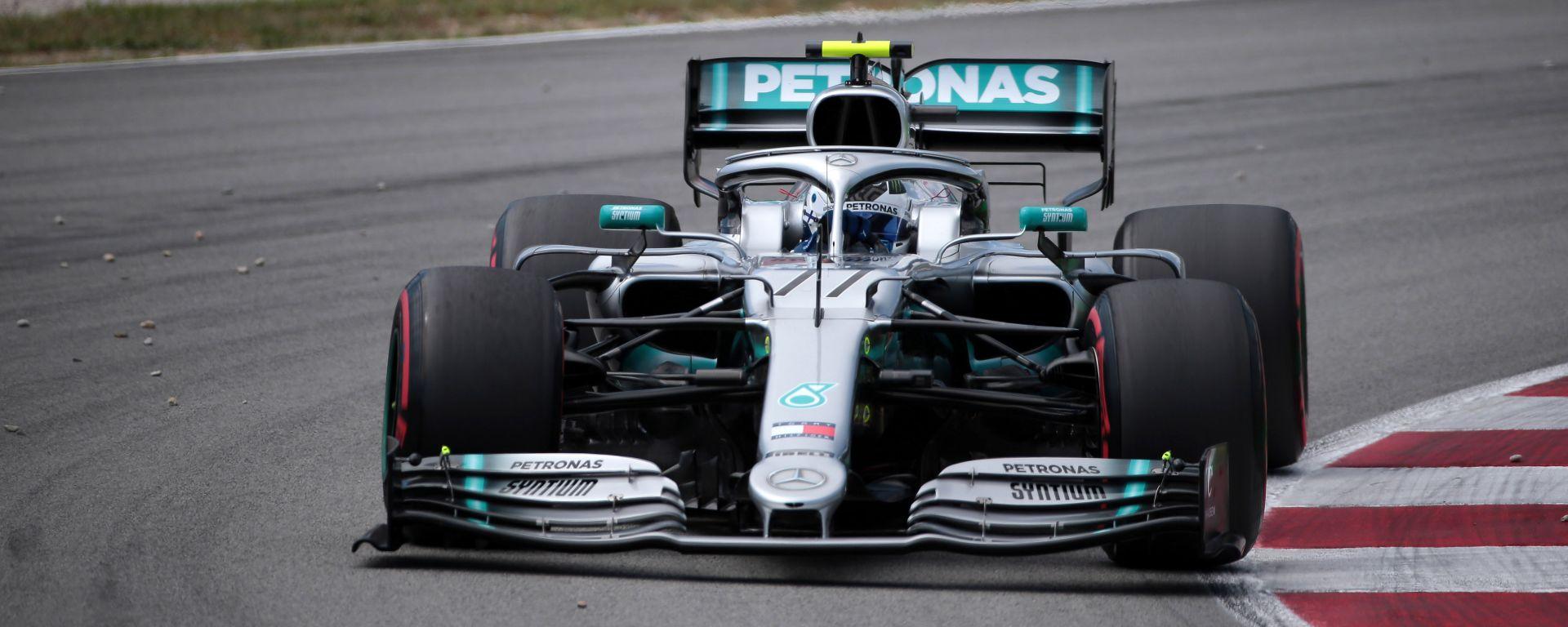 """GP Spagna, Bottas: """"La macchina fa tutto quello che voglio"""""""