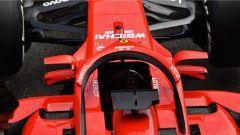 Ferrari sfrutta l'Halo e il regolamento: ecco gli specchietti rialzati - Immagine: 3