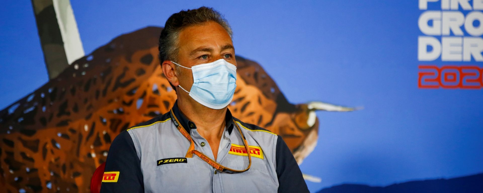GP Stiria 2020, Spielberg: Mario Isola (Pirelli)