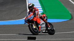 GP Thailandia 2018, Buriram, prove libere, Jorge Lorenzo in azione con la sua Ducati