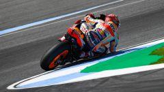 GP Thailandia 2018, Buriram, prove libere, Marc Marquez in azione con la sua Honda