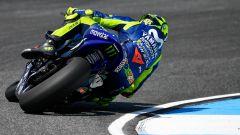 GP Thailandia 2018, Buriram, prove libere, Valentino Rossi in azione con la sua Yamaha