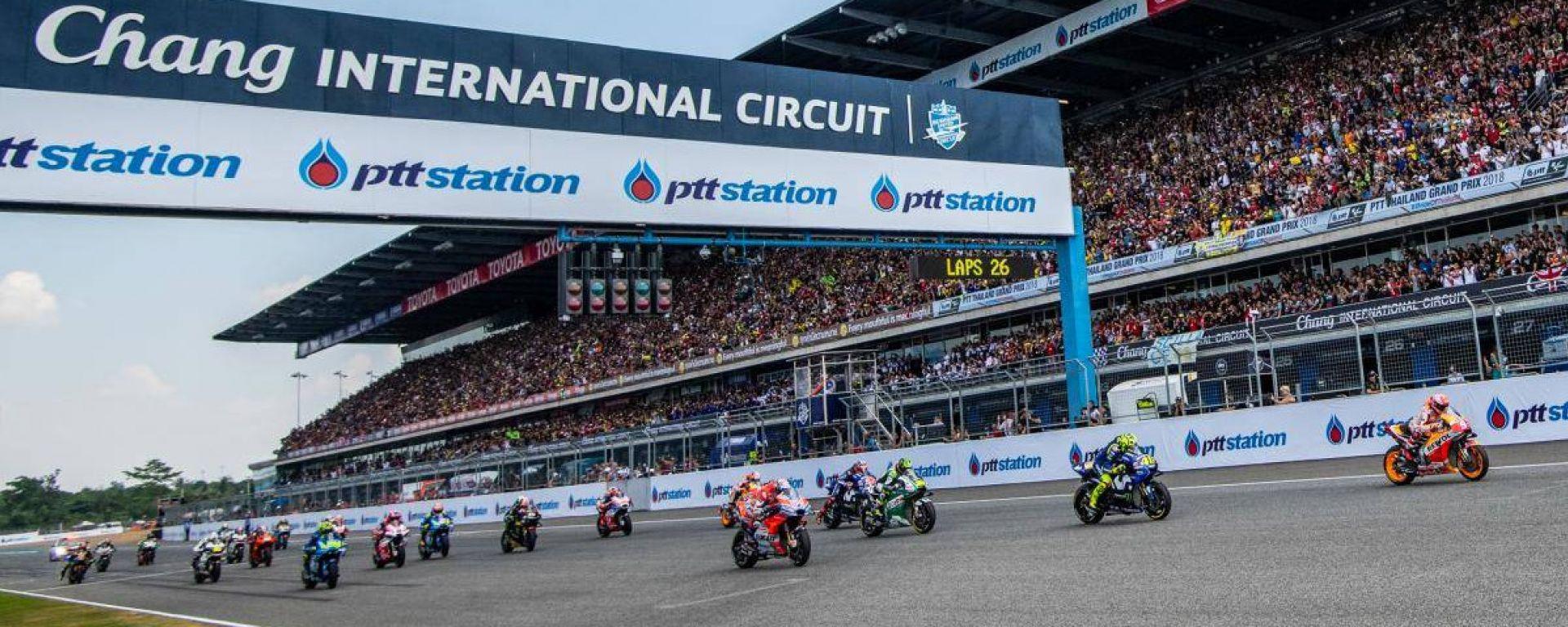 GP Thailandia 2018, MotoGP, partenza