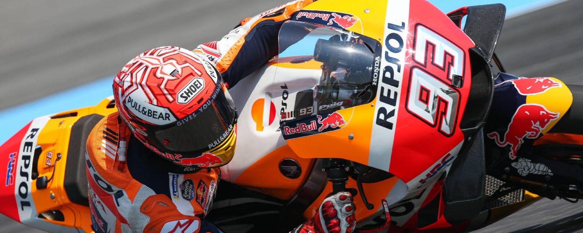 GP Thailandia, Buriram. Marquez vince davanti a Dovizioso