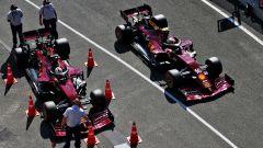GP Toscana 2020, Mugello: Charles Leclerc e Sebastian Vettel (Ferrari)