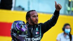 GP Toscana 2020, Mugello: Lewis Hamilton (Mercedes)