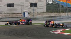 GP Turchia 2010, Instanbul: Red Bull, Sebastian Vettel vs Mark Webber