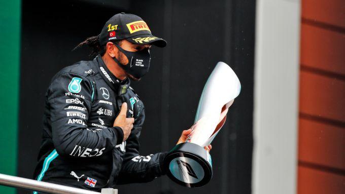 GP Turchia 2020, Istanbul Park - Lewis Hamilton (Mecedes)