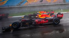 GP Turchia 2020, Istanbul Park - Max Verstappen e Alex Albon (Red Bull)