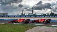 Ferrari, una seconda fila frutto del lavoro di squadra