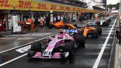GP Ungheria 2018, Esteban Ocon alla guida della sua Force India