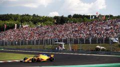GP Ungheria 2018, Fernando Alonso in azione con la sua McLaren