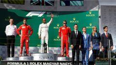 F1 2018, GP Ungheria, le parole dei protagonisti: Hamilton, Vettel, Raikkonen, Ricciardo, Bottas