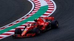 GP Ungheria 2018, Kimi Raikkonen in azione con la Ferrari