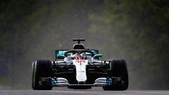 F1 2018, GP Ungheria, qualifiche: Hamilton super pole bagnata! Vettel quarto