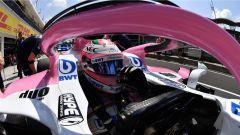 GP Ungheria 2018, Sergio Perez alla guida della sua Force India