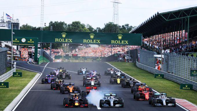 GP Ungheria 2019, Hungaroring, Budapest: la partenza