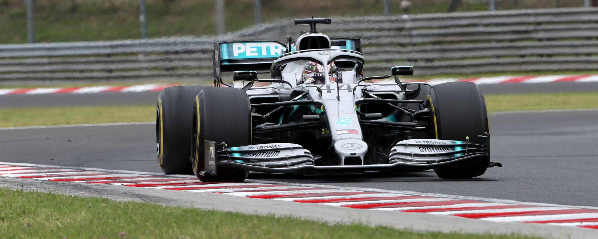 GP Ungheria 2019, Hungaroring, Lewis Hamilton (Mercedes)
