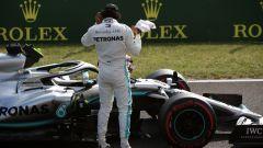 GP Ungheria 2019, Hungaroring, qualifiche: Lewis Hamilton (Mercedes)
