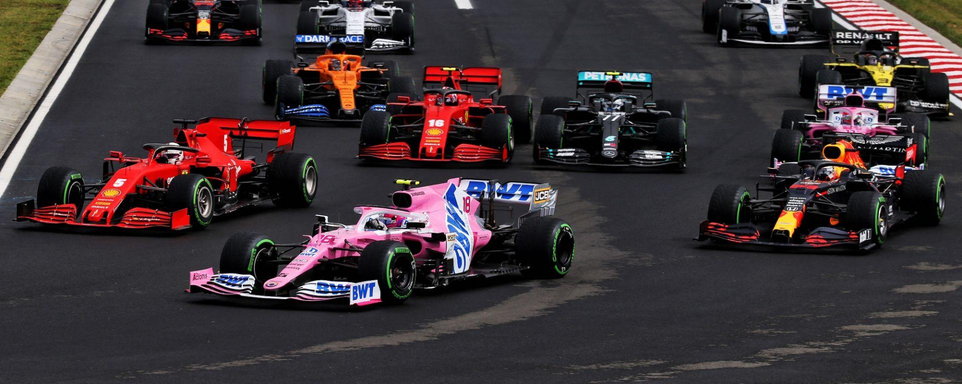 GP Ungheria 2020, Budapest: la partenza