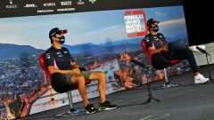 GP Ungheria 2020, Budapest: Sergio Perez e Lance Stroll (Racing Point)