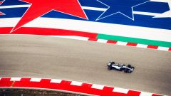 GP USA 2018, Austin, Lewis Hamilton in azione con la sua Mercedes