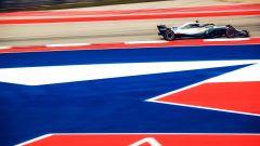 GP USA 2018, Austin, Valtteri Bottas in azione con la sua Mercedes
