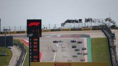GP USA 2019, Austin: la partenza