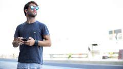 GP2 2015, André Negrao ad Abu Dhabi prima della sua ultima gara nella categoria