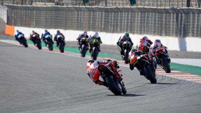 Gran Premio d'Europa 2020 a Valencia, prime fasi
