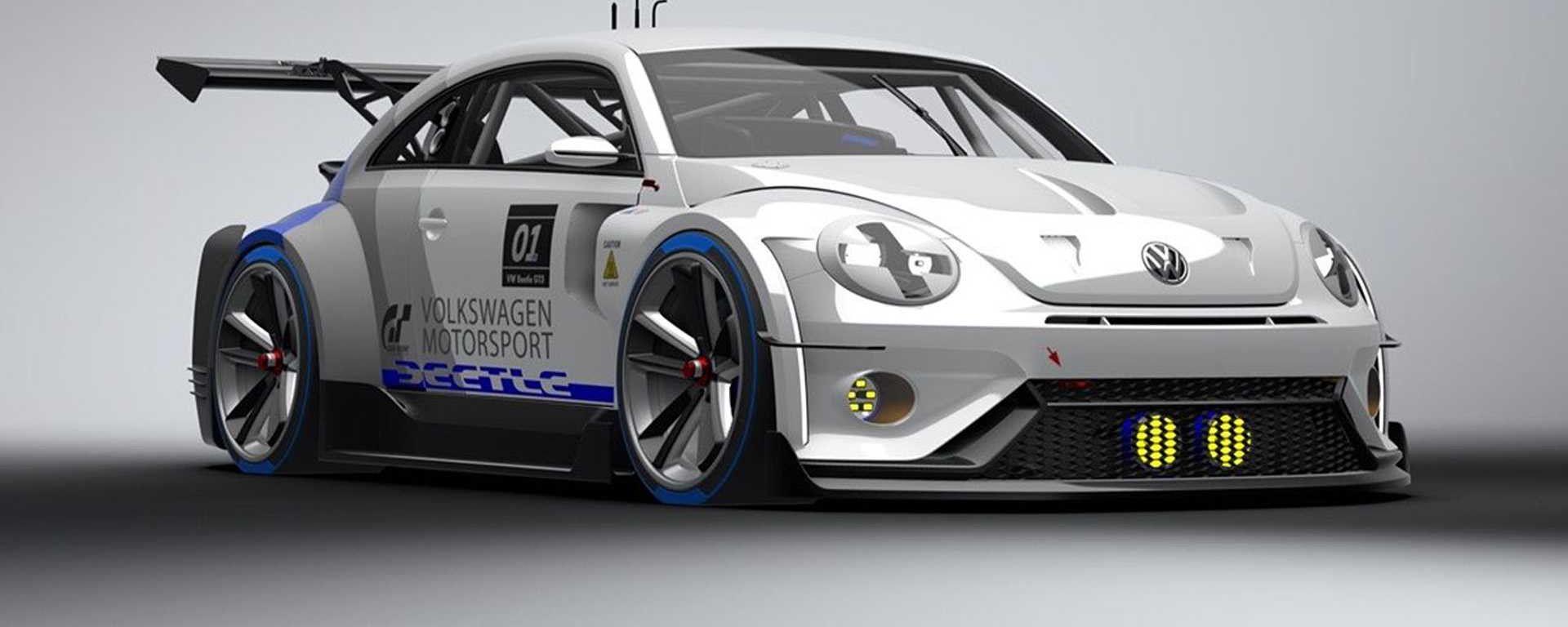 Gran Turismo Sport Beetle, vista 3/4 anteriore