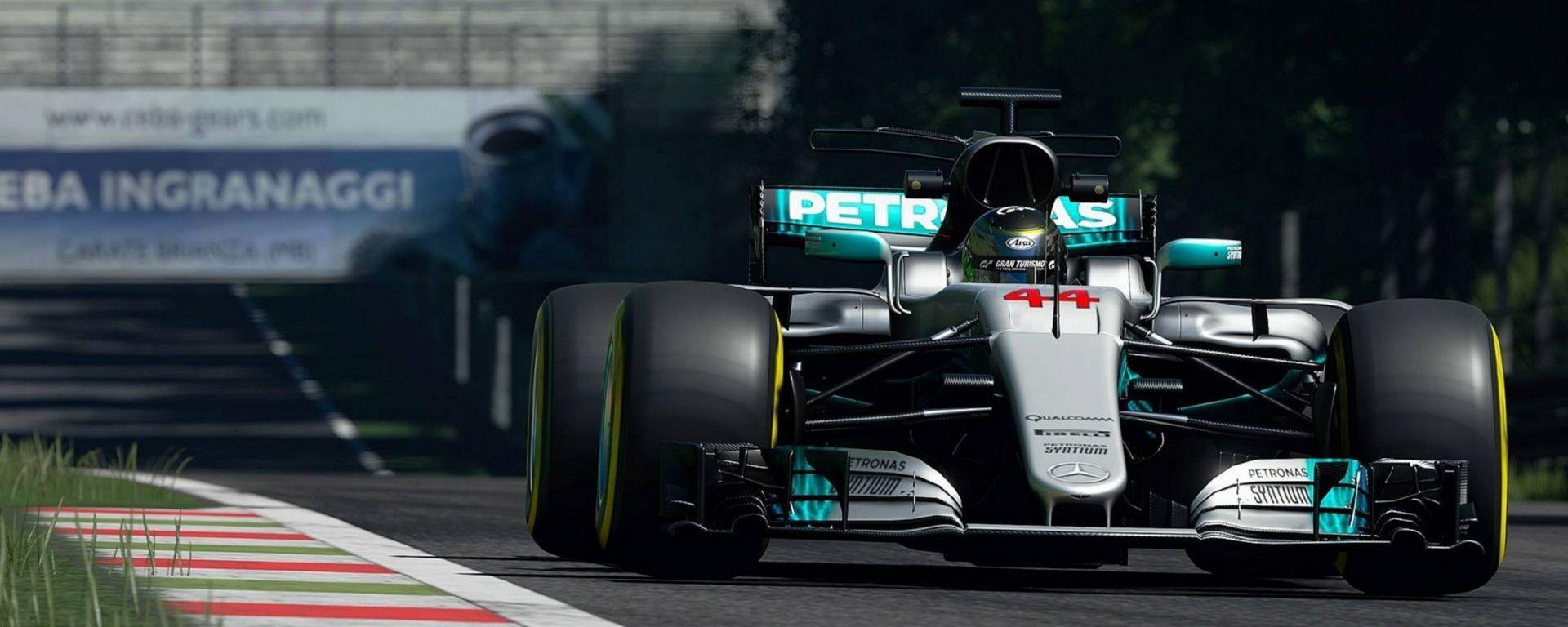 Gran Turismo Sport: ecco il DLC con la F1 di Hamilton