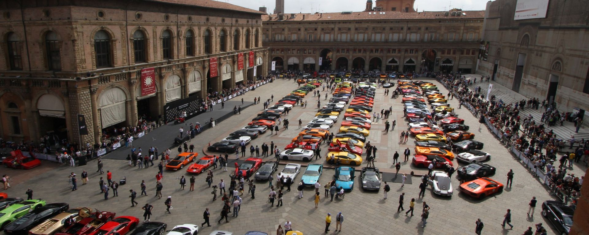 Grande Giro Lamborghini: tutte le foto