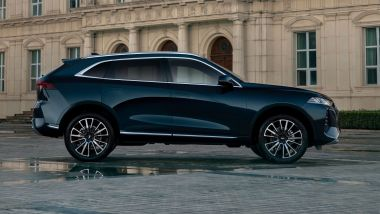 Great Wall Motors: Wey Coffee 01, visuale laterale