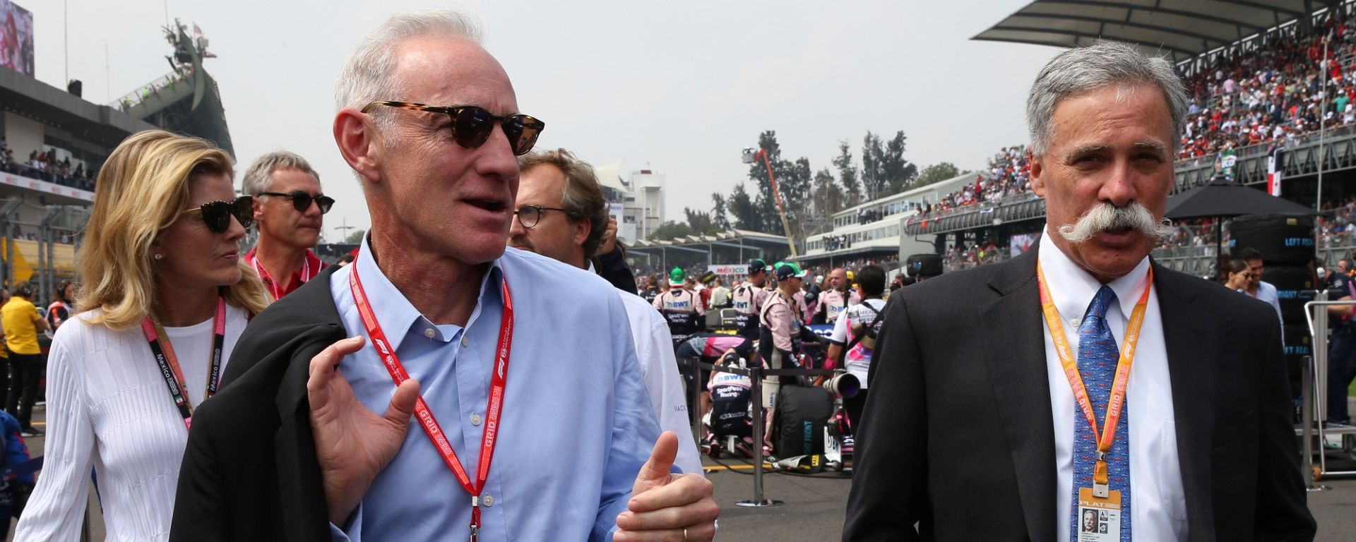 Greg Maffei, CEO di Liberty Media, e Chase Carey, CEO della Formula 1