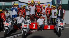 Gresini coi ragazzi dell'Honda Italia Racing Project