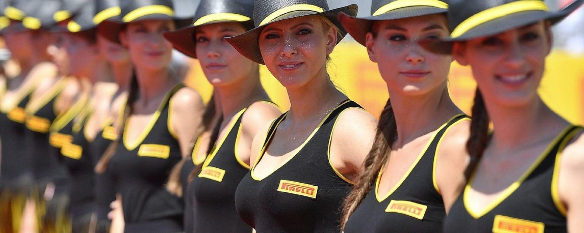 Grid Girl Pirelli - Formula Uno