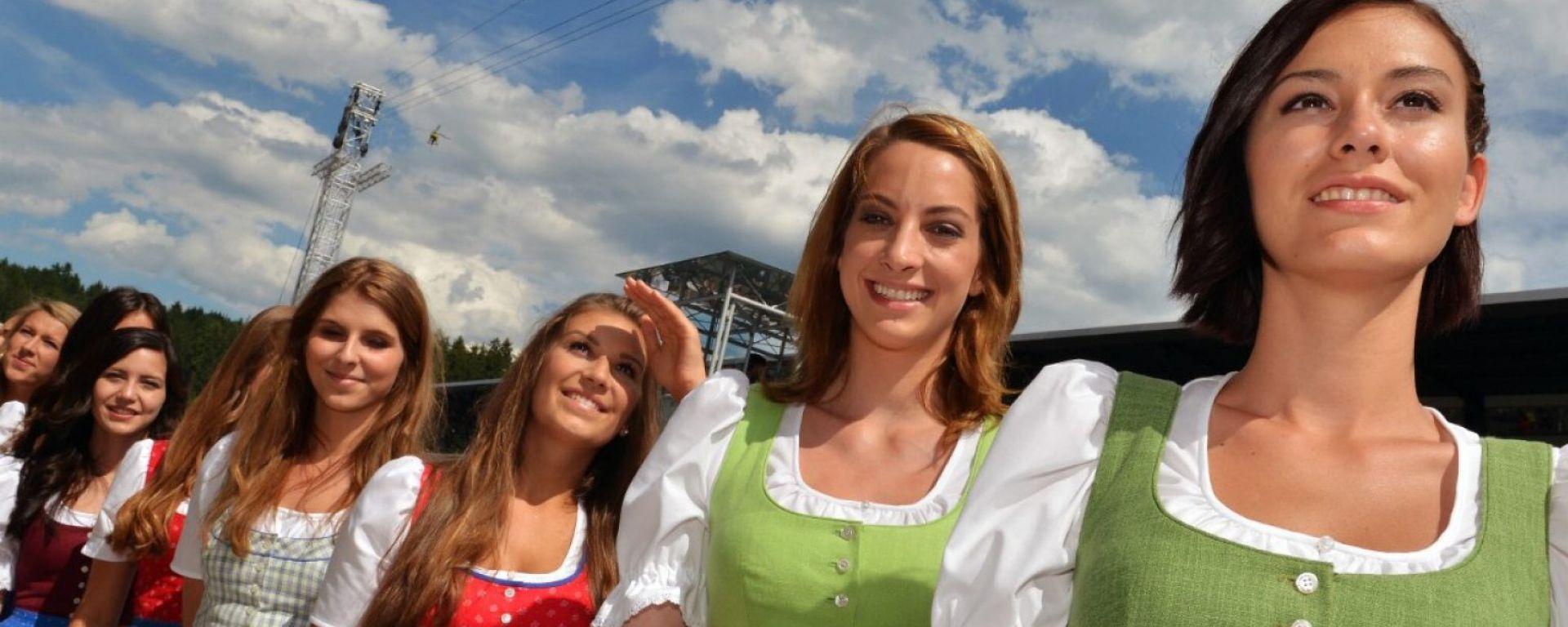 Grid Girls - Austrian Gran Prix Race
