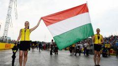 Grid Girls in Ungheria per la F1