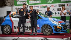 Griso, podio Rally del Friuli - Peugeot Competition 208 Rally Cup Top