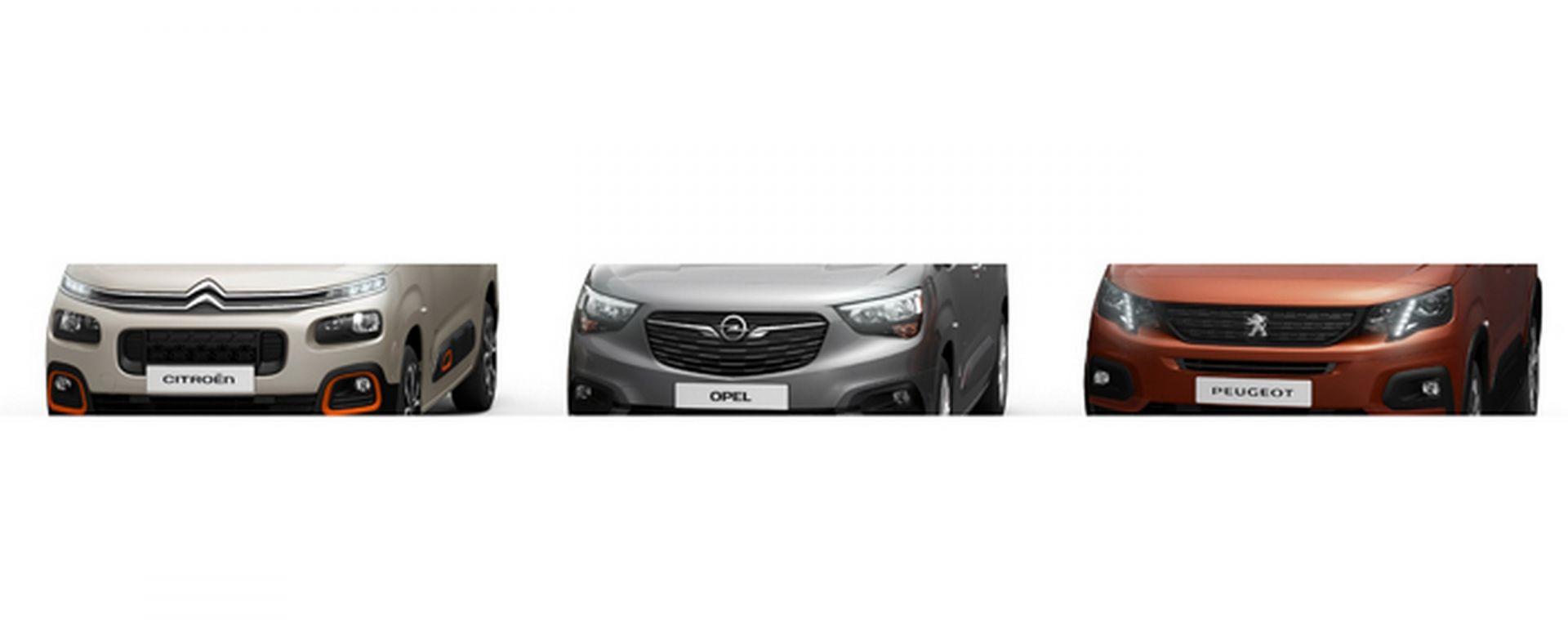 PSA: nuova piattaforma per Multispazio Citroen Opel e Peugeot