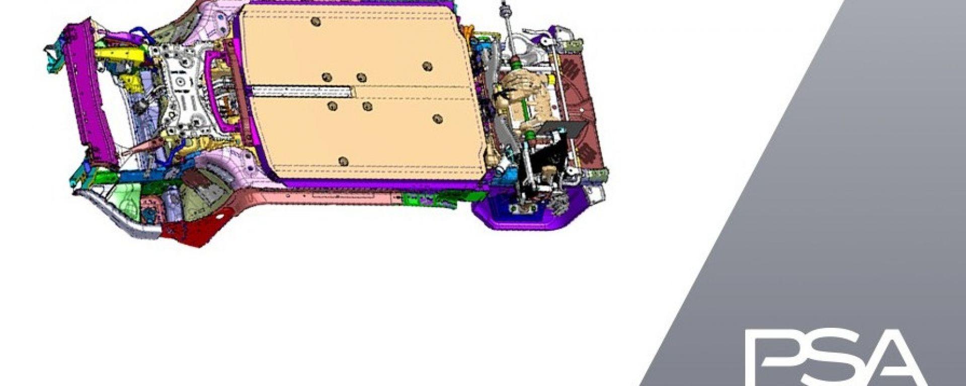 Gruppo PSA presenta la nuova piattaforma modulare eVMP