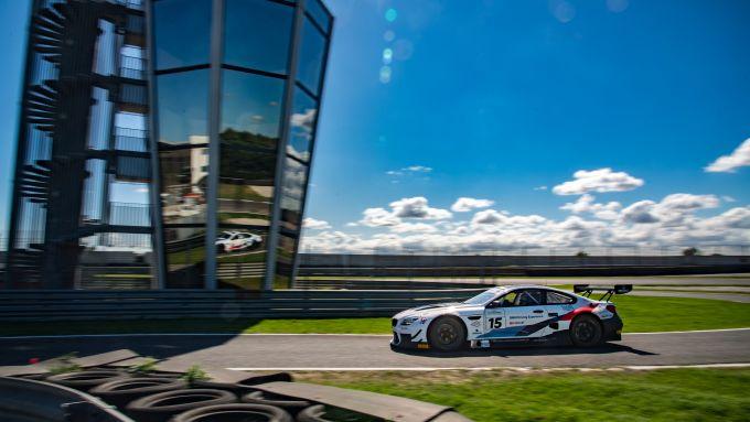 GT Italiano 2019, Alex Zanardi impegnato nei test della Bmw M6 GT3