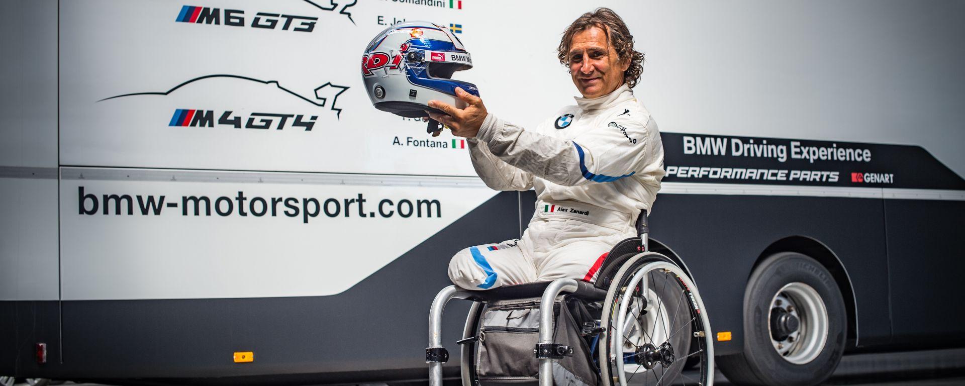 GT Italiano 2019, Alex Zanardi sarà impegnato al volante della Bmw M6 GT3 nella tappa del Mugello