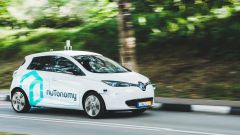 Guida autonoma: i taxi sviluppati dalla nuTonomy e in fuzione, su strade pubbliche, a Singapore
