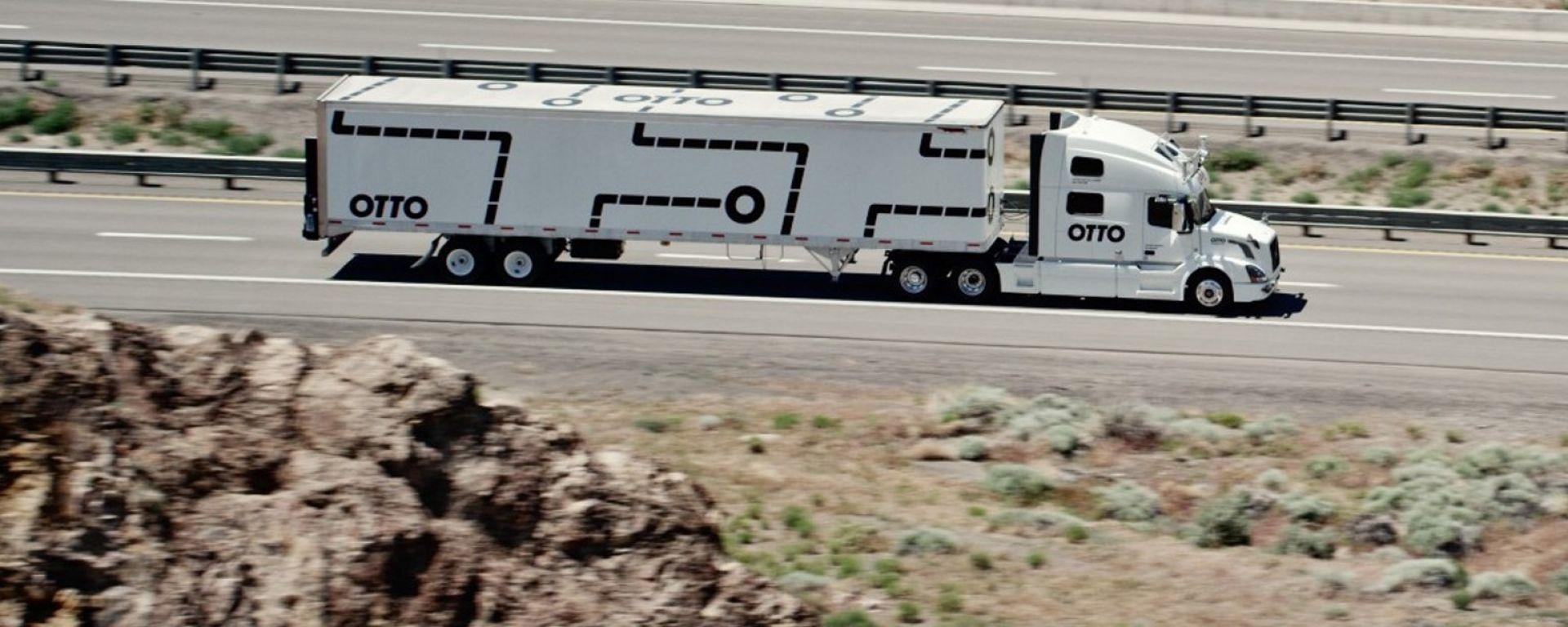 Guida autonoma: per i camion c'è Otto
