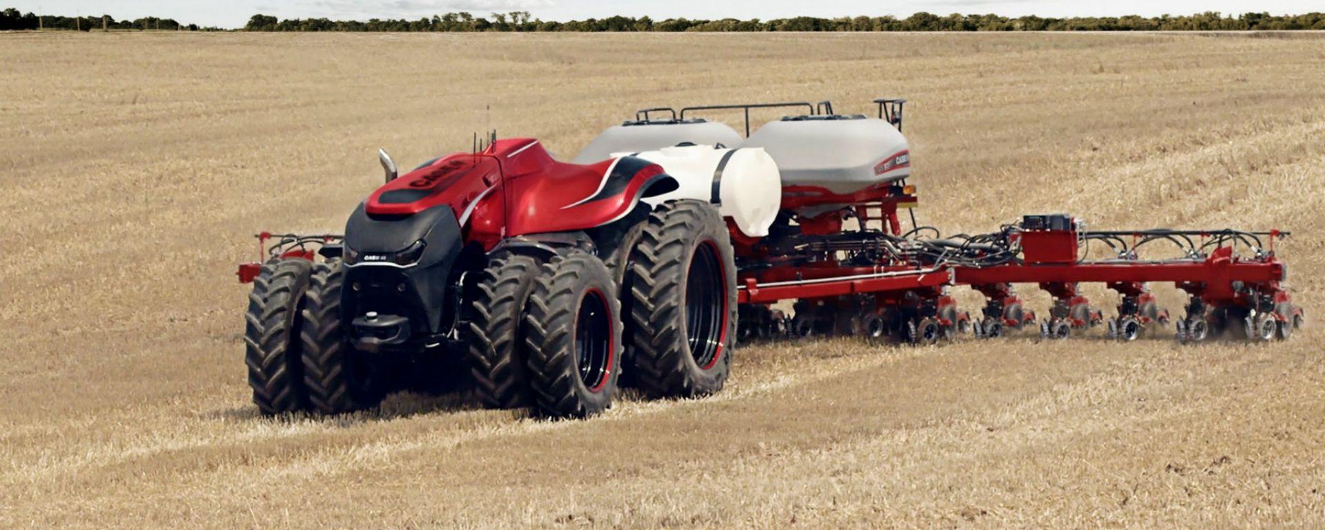 Guida autonoma: CNH Industrial la mette sui trattori