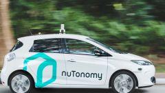 Guida autonoma: come base nuTonomy ha scelto le piccole elettriche Mitsubishi iMev e Renault Zoe