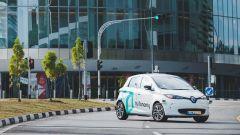 Guida autonoma: i taxi di Singapore